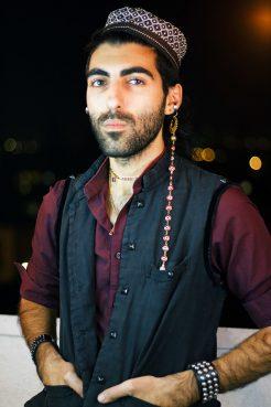 Levon Kafafian. Portrait in collaboration with Jiyan Zandi, courtesy Levon Kafafian