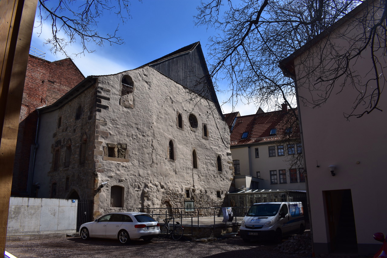 The Old Synagogue in Erfurt dates back 900 years. Photo by Ken Chitwood