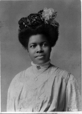 Nannie Helen Burroughs, circa 1909. Photo by the Rotograph Co./LOC/Creative Commons