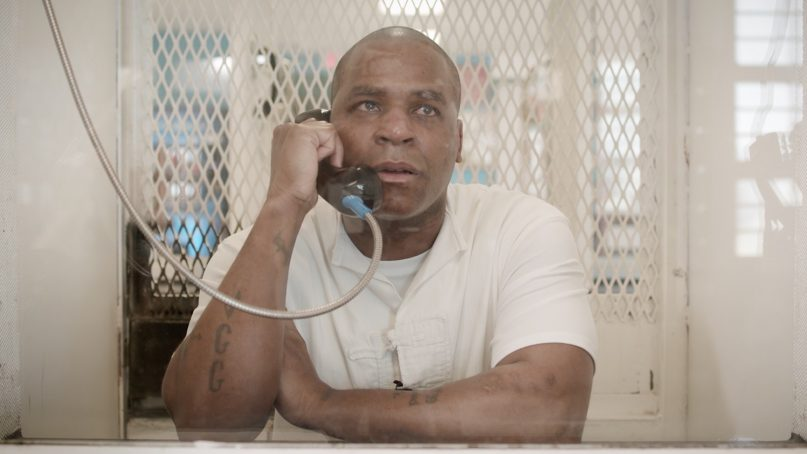 Quintin Jones during a recent interview with The New York Times from prison in Livingston, Texas. Video screengrab via NYT. Video by Jonah M. Kessel, Suleika Jaouad and Lindsay Crouse