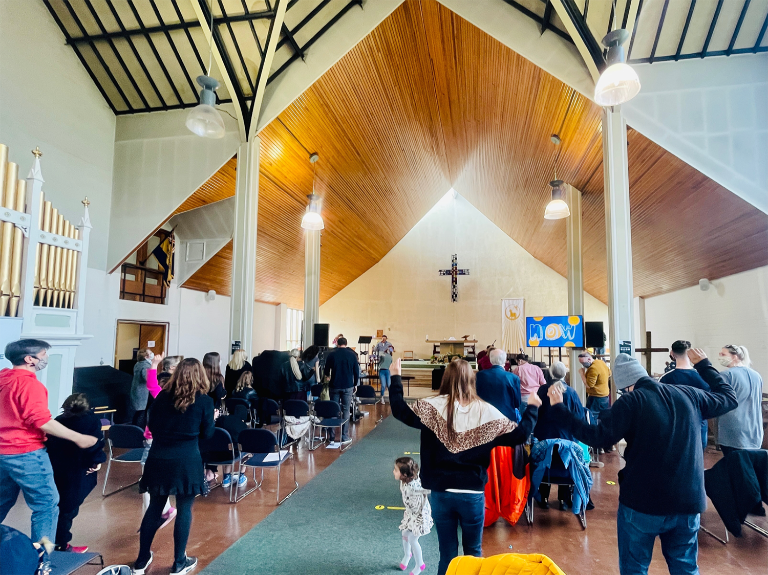 St Francis Mackworth in Derby, United Kingdom has re-opened with social distancing measures in practice to allow in person services. Photo submitted by Ali Davies-Marsh