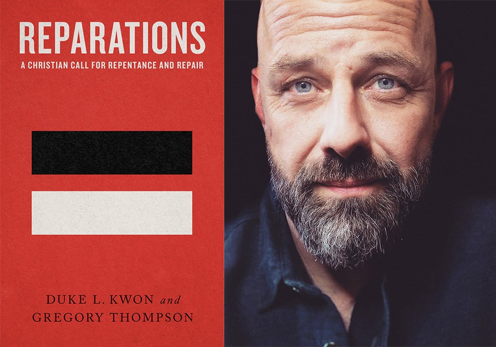 """""""Reparations: A Christian Call for Repentance and Repair"""" and co-author Gregory Thompson. Courtesy images"""