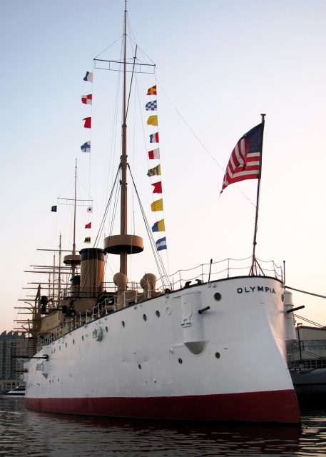 The USS Olympia is home to the Difficult Journey Home exhibit that opens May 28, and a historical marker will be unveiled during the Museum's Memorial Day ceremony on Monday, May 31. Independence Seaport Museum