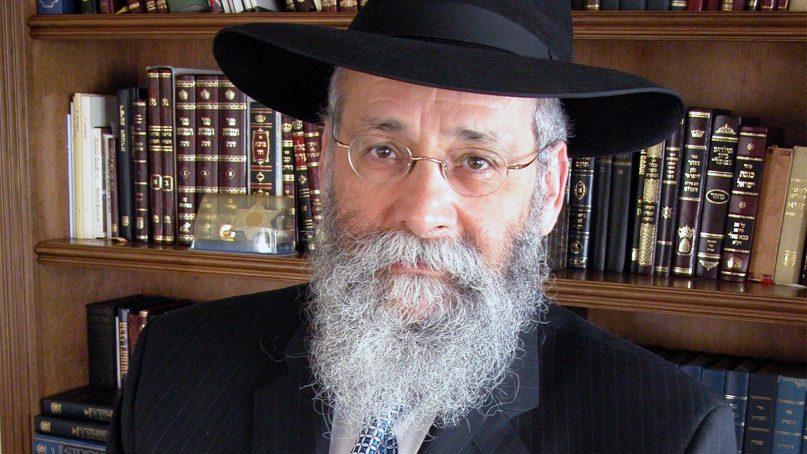 Rabbi Sholom Lipskar. Photo courtesy of Chabad.org