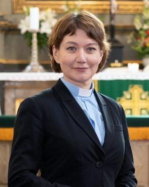 The Rev. Anne Burghardt. Photo by Erik Peinar