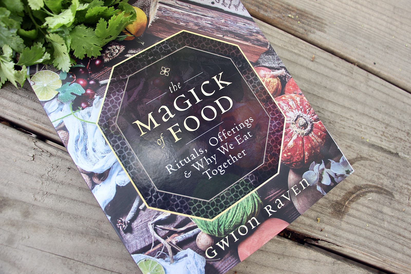 """""""The Magick of Food""""by Gwion Raven. RNS photo by Emily McFarlan Miller"""