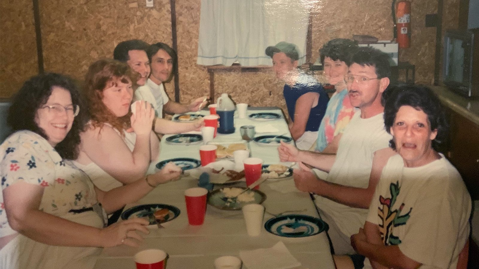 Several members of Community of Hope church during a mission trip in Oklahoma in the early 1990s. Photo courtesy of Brad Mulholland