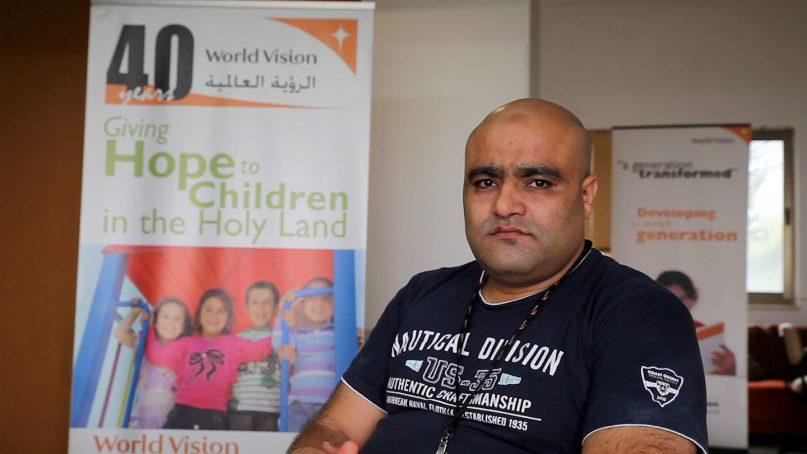 Mohammad el Halabi was arrested by Israeli authorities on June 15, 2016. Photo via World Vision