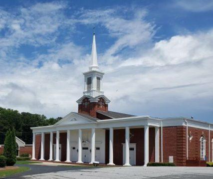 Rehoboth Baptist Church. Photo courtesy of Troy Bush