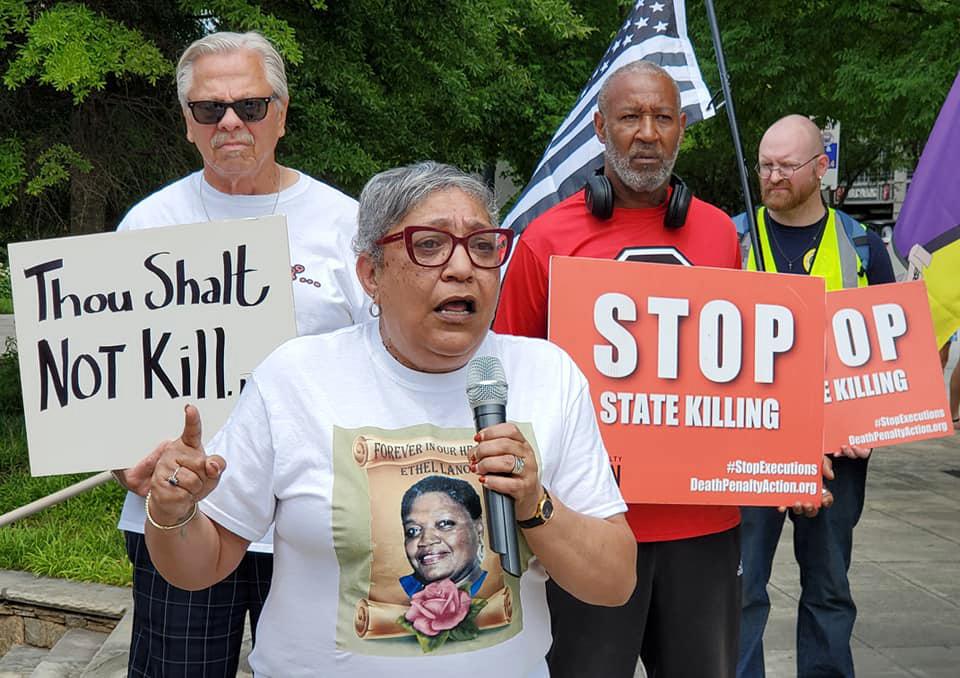 The Rev. Sharon Risher. Photo courtesy of DeathPenaltyAction.org