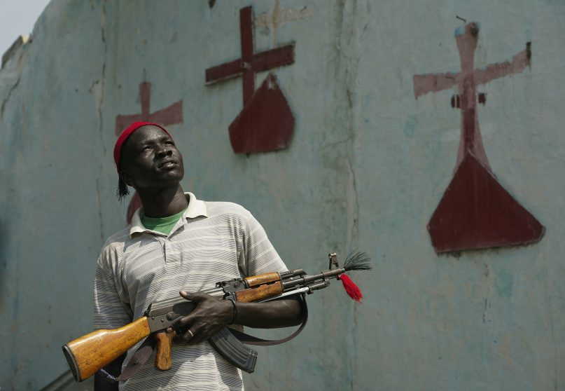 Religious identity played a role in liberation struggle. (Ali Ngethi/AFP via Getty Images))