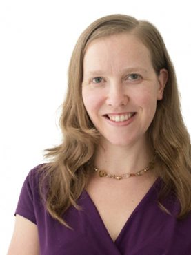 Alicia McBride, FCNL's Director of Quaker Leadership. Photo via FCNL