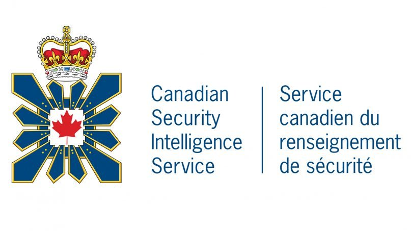 The Canadian Security Intelligence Service logo. Image via Creative Commons