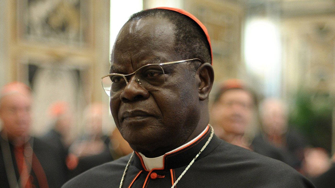 Cardinal Laurent Monsengwo Pasinya. (Vatican Media)