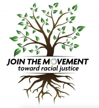 The UCC's Join the Movement iniative is part of the church's work to fight racism and talk about racial justice. Screenshot from jointhemovementucc.org