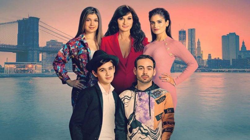 """My Unorthodox Life"" on Netflix follows the family of Julia Haart, center. Image courtesy of Netflix"