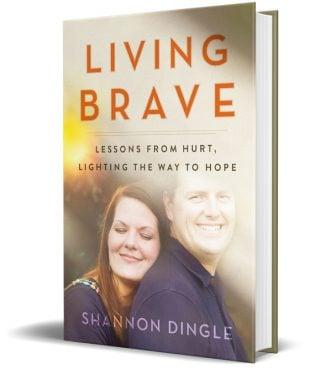 """Living Brave"" by Shannon Dingle. Images courtesy of Dingle's website"