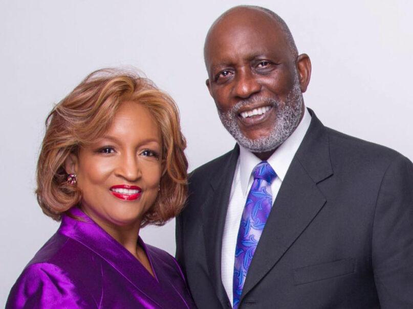 Stan McKenzie, right, and spouse Bishop Vashti Murphy McKenzie. Photo courtesy of AME 10th Episcopal District