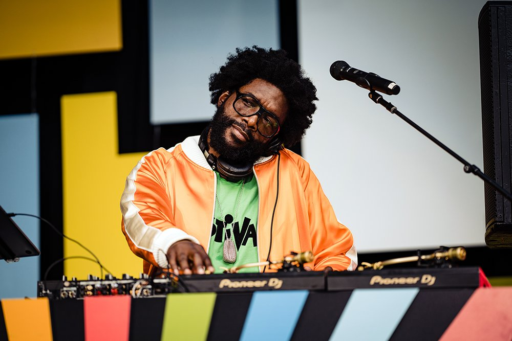 """Ahmir """"Questlove"""" Thompson. Photo courtesy of Searchlight Pictures"""