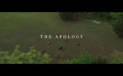 """The trailer for """"The Apology"""" features the voices of two community members, Dr. Negiel Bigpond and Sam Browback, a former ambassador and Kansas governor. Screengrab courtesy of The Apology Now"""