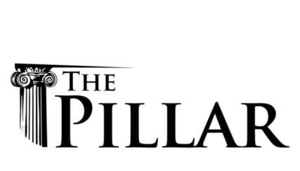 The Pillar logo. Screen grab courtesy of The Pillar website