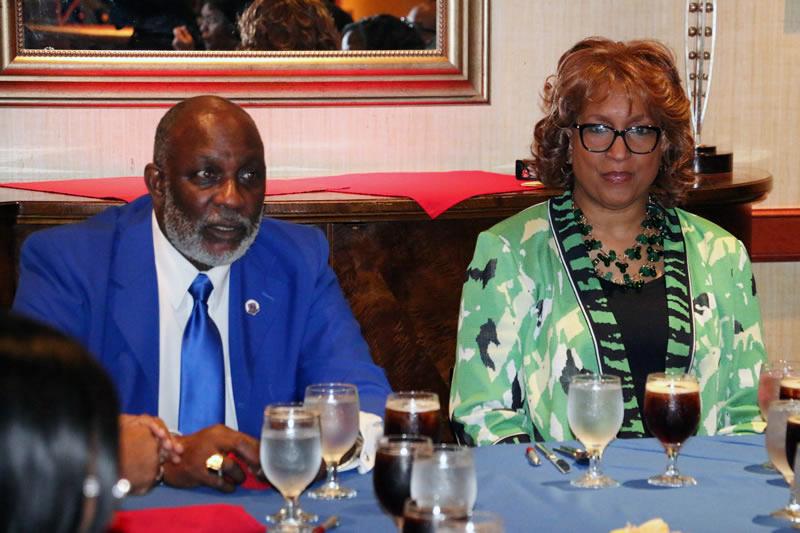 Episcopal Supervisor Stan McKenzie, left, and Bishop Vashti Murphy McKenzie in 2015. Photo courtesy of the 10th Episcopal District of the African Methodist Episcopal Church