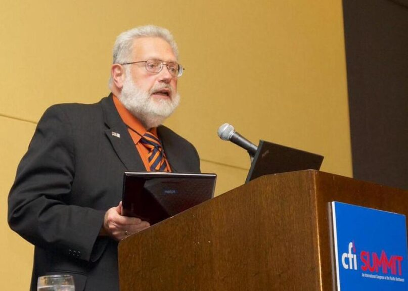 Tom Flynn, former director of the Center for Inquiry.  Photo by Brian Engler, CFI