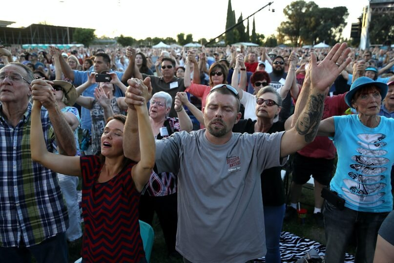Evangelicals share the recognition of the Bible as the ultimate authority. (Justin Sullivan/Getty Images)
