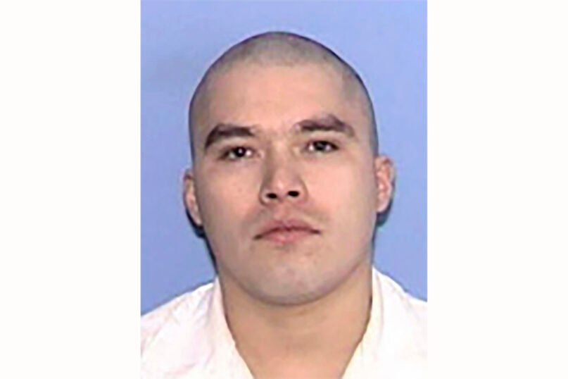 This Feb. 13, 2009 photo provided by the Texas Department of Criminal Justice shows John Henry Ramirez. Ramirez, a Texas death-row inmate, has sued state prison officials to allow his pastor to lay hands on him as he dies from a lethal injection. Ramirez is scheduled to be put to death in the Texas death chamber on Sept. 8, 2021, but his attorneys said in a federal lawsuit filed Tuesday, Aug. 10 in Corpus Christi that state prison officials had denied his request to have his pastor lay hands on him as he dies. (Texas Department of Criminal Justice via AP)