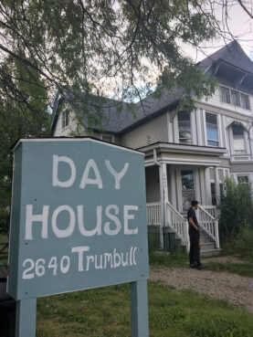 The Catholic Worker Day House has been in Detroit's Corktown neighborhood since the late 1970s. RNS photo by Renée Roden