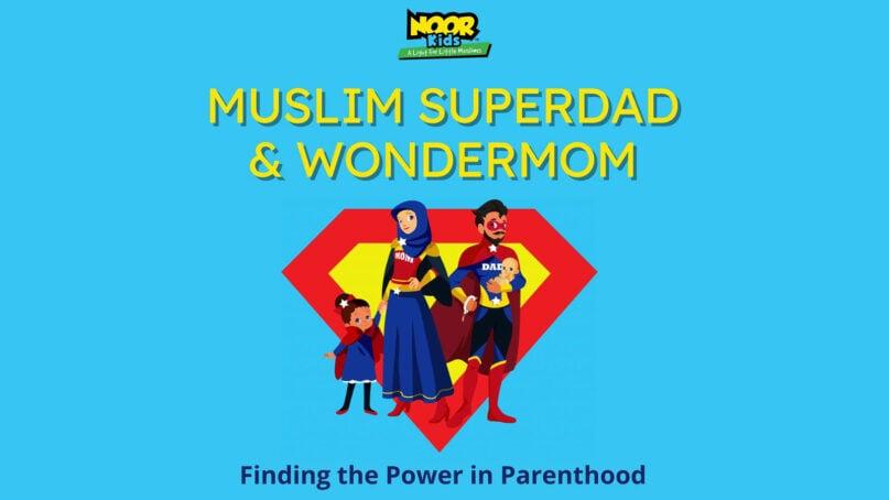 """Muslim Superdad & Wondermom"" podcast logo. Courtesy image"