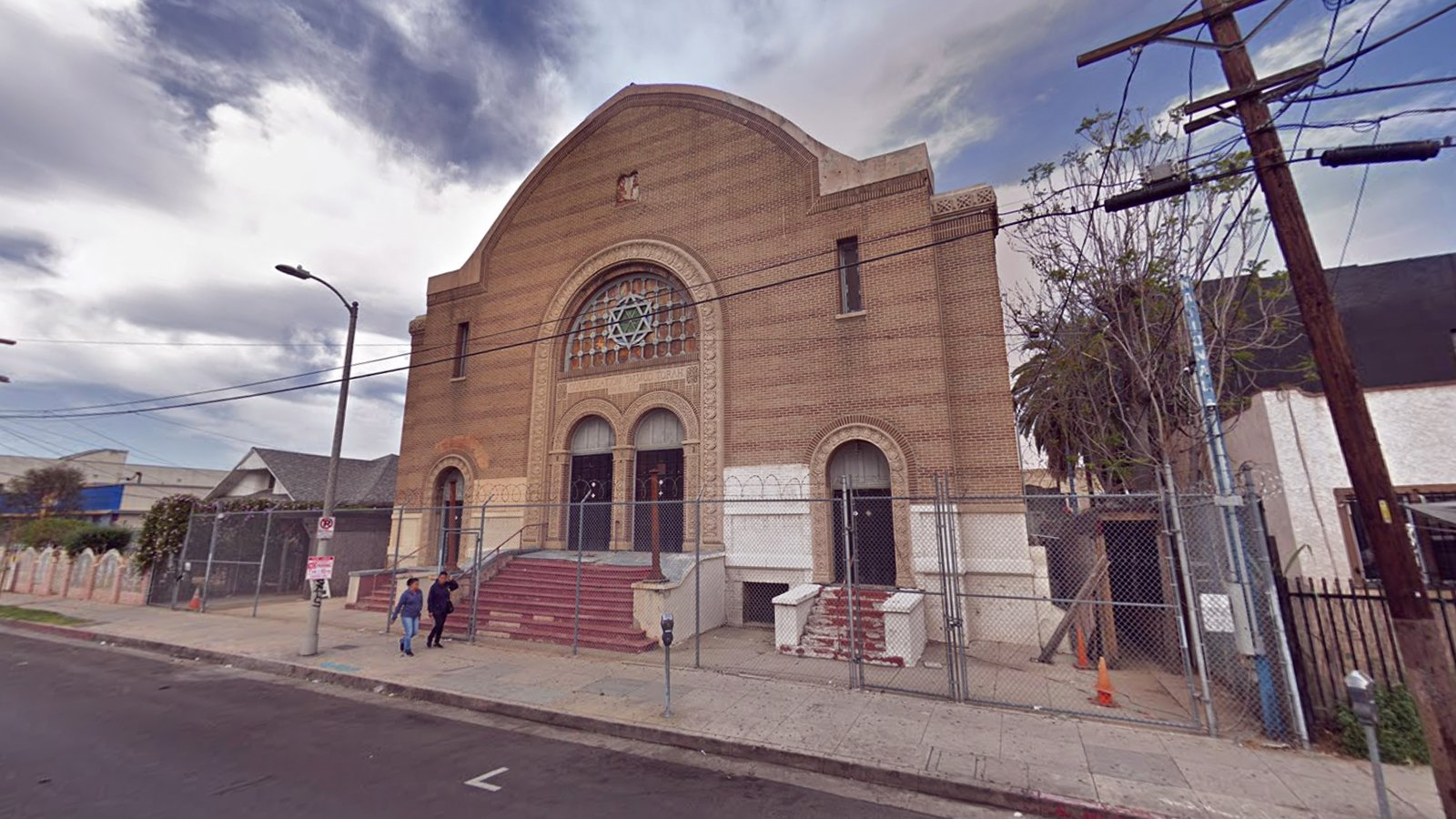 The century-old Breed Street Shul in the Boyle Heights neighborhood of Los Angeles. Image courtesy of Google Maps