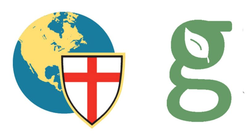 Logos of the Anglican Church in North America, left, and Greenhouse Movement. Courtesy images