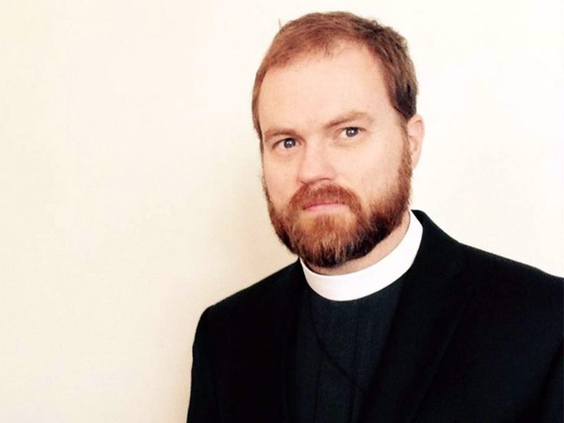 The Rev. Thomas McKenzie, rector of Church of the Redeemer in Nashville, Tennessee. Courtesy photo