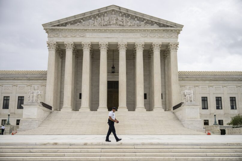 The U.S. Supreme Court has allowed Texas' abortion restrictions to take effect. (Drew Angerer/Getty Images)