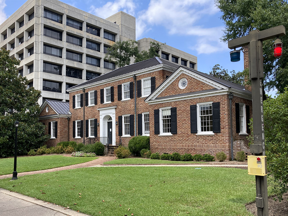 The Anne Frank Center at the University of South Carolina in Columbia is located in the Barringer House. RNS photo by Yonat Shimron