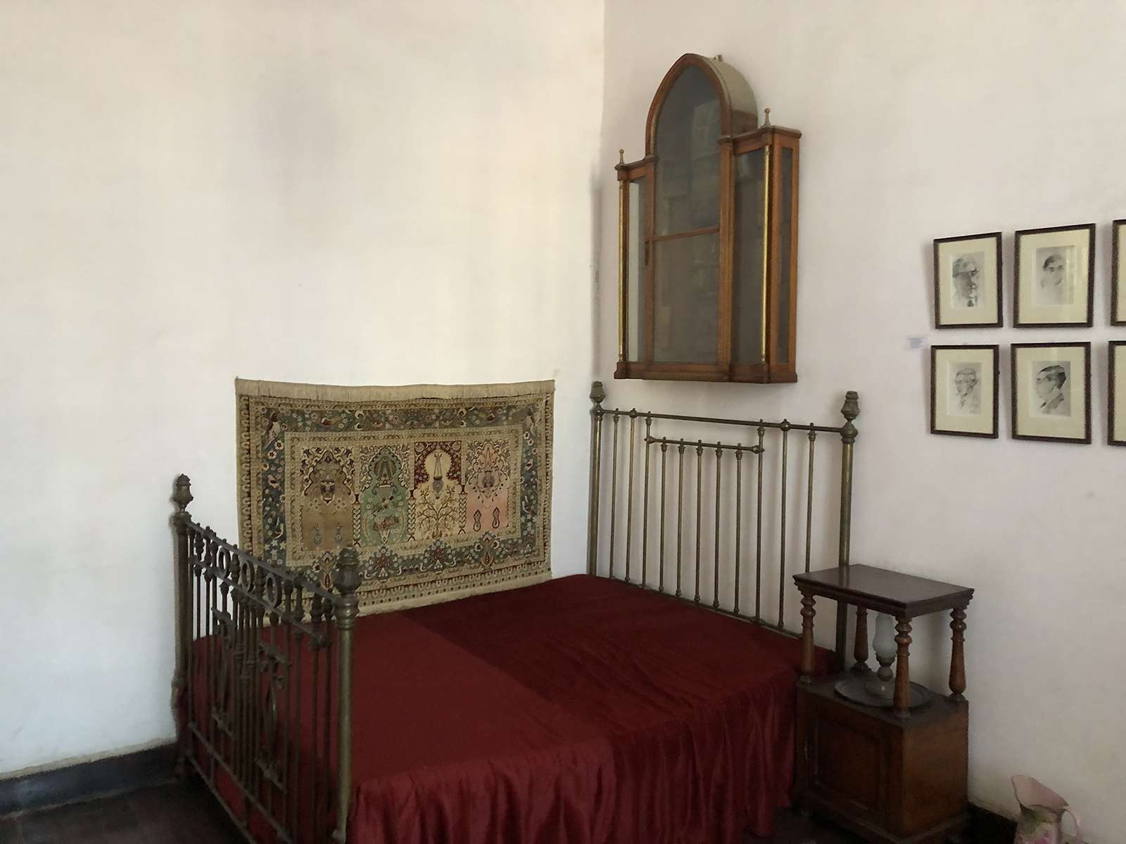 The Constantine Cavafy museum of the poet's former apartment in Alexandria, Egypt. RNS photo by Joseph Hammond