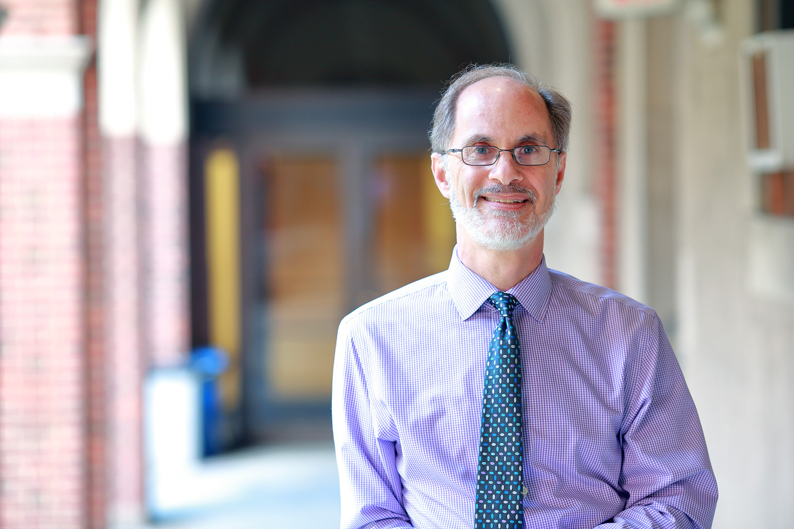 Librarian David C. Kraemer. Photo courtesy of Jewish Theological Seminary