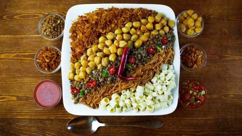 Koshari is the national dish of Egypt. Photo by Dina Said/Wikimedia/Creative Commons