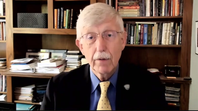 Dr. Francis Collins, director of the National Institutes of Health, discusses COVID-19 vaccinations. Video screengrab