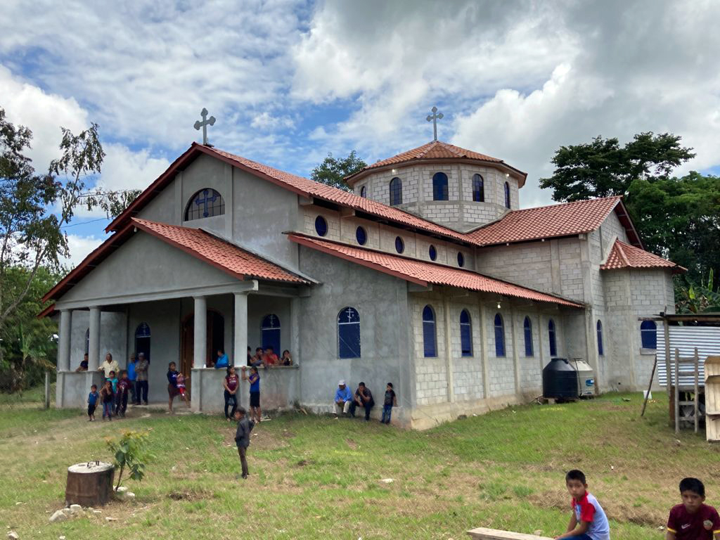 The Parish of St. John the Baptist in Los Angeles Ixcan, Guatemala. Photo by Fr. Evangelios Pata and Fr. Thomas Manuel