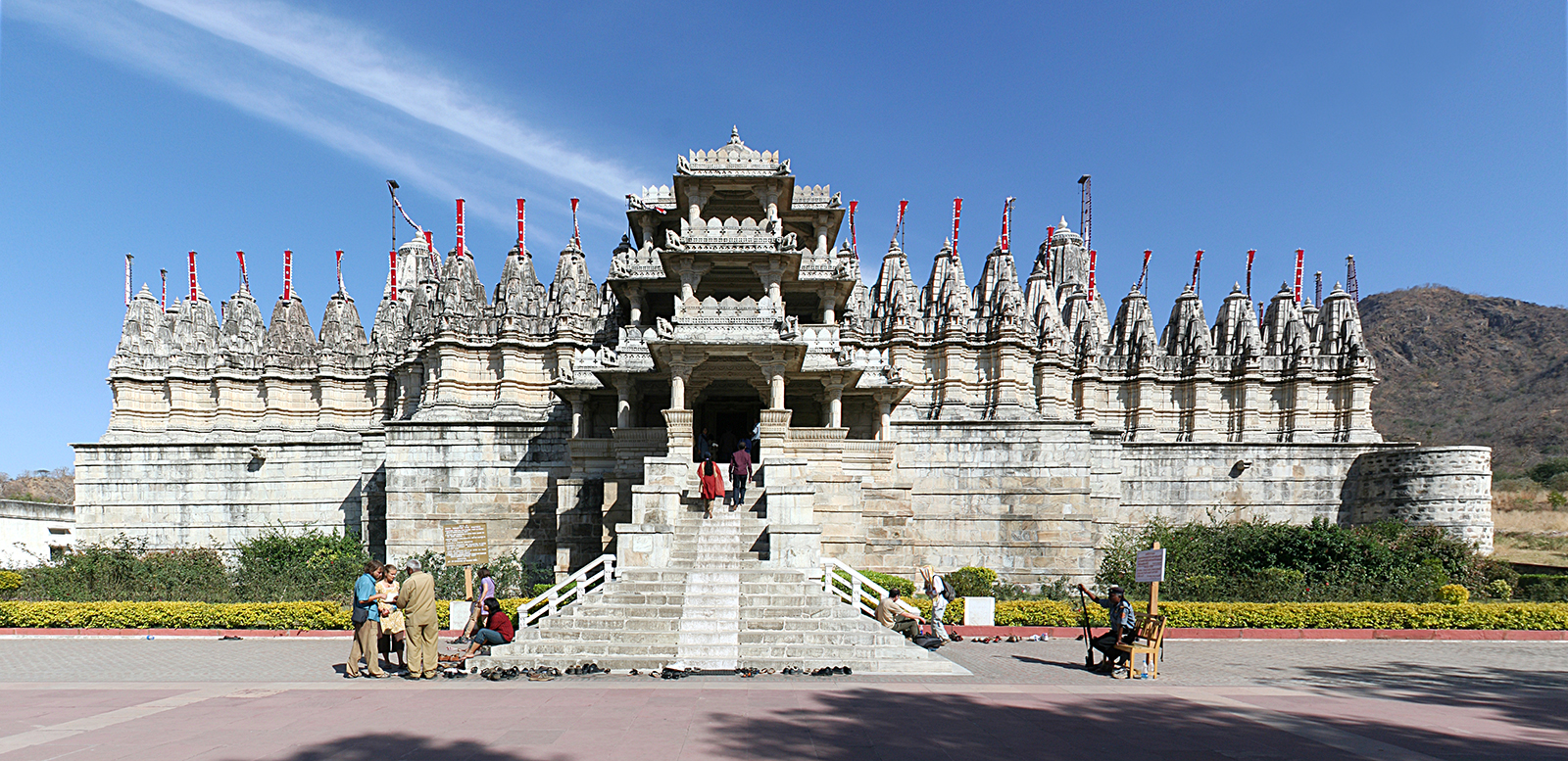 Ranakpur Jain temple in western India. Photo by Ingo Mehling/Wikipedia/Creative Commons