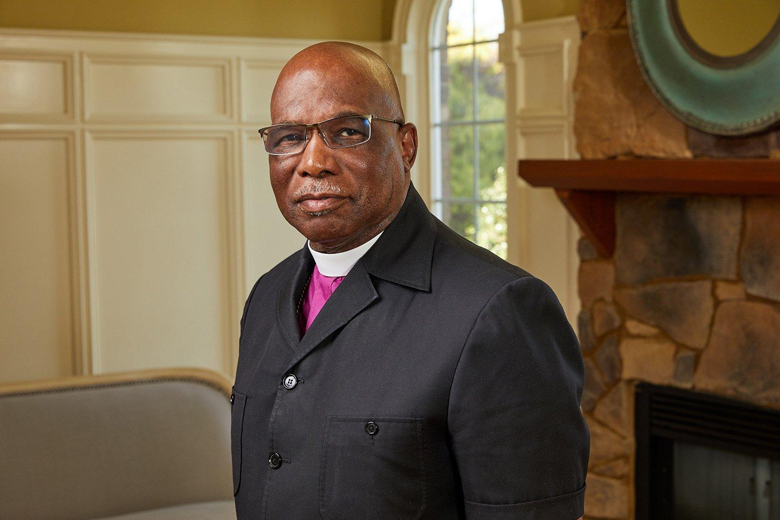 Bishop Kenneth Monroe in 2019. Photo by Robert A Lisak