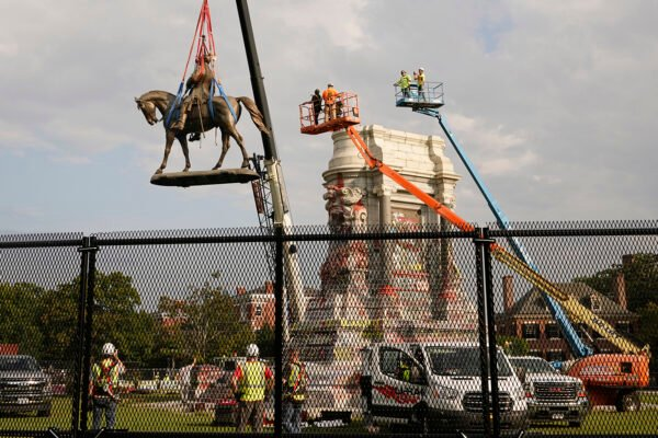 Removal of Robert E. Lee leaves Arthur Ashe as Richmond's remaining witness