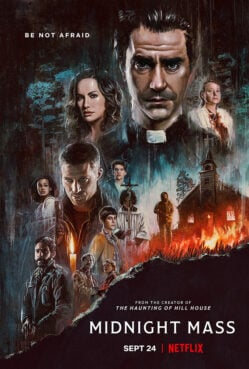 "Poster for Netflix's ""Midnight Mass."" Image courtesy of Netflix"
