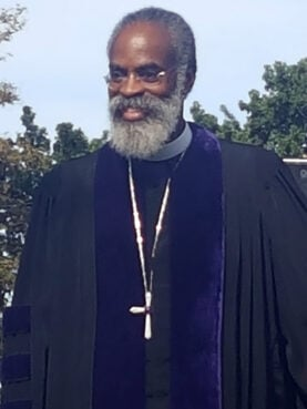 Former AME Zion Church Bishop Staccato Powell. Photo courtesy of Ed Prothro-Harris