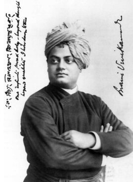 Swami Vivekananda in Chicago during the Parliament of the World's Religions in Sept. 1893. Photo courtesy of Creative Commons