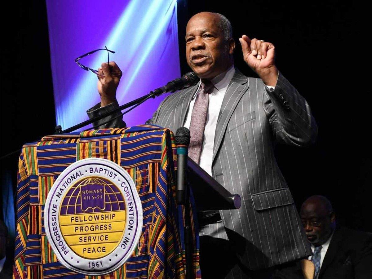 President Timothy Stewart of the Progressive National Baptist Convention. Courtesy photo