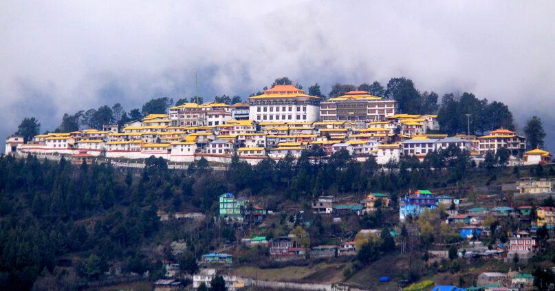 The Tawang Monastery in Arunachal Pradesh, India, in 2018. Photo by Arkadipta Chandra/Wikimedia/Creative Commons