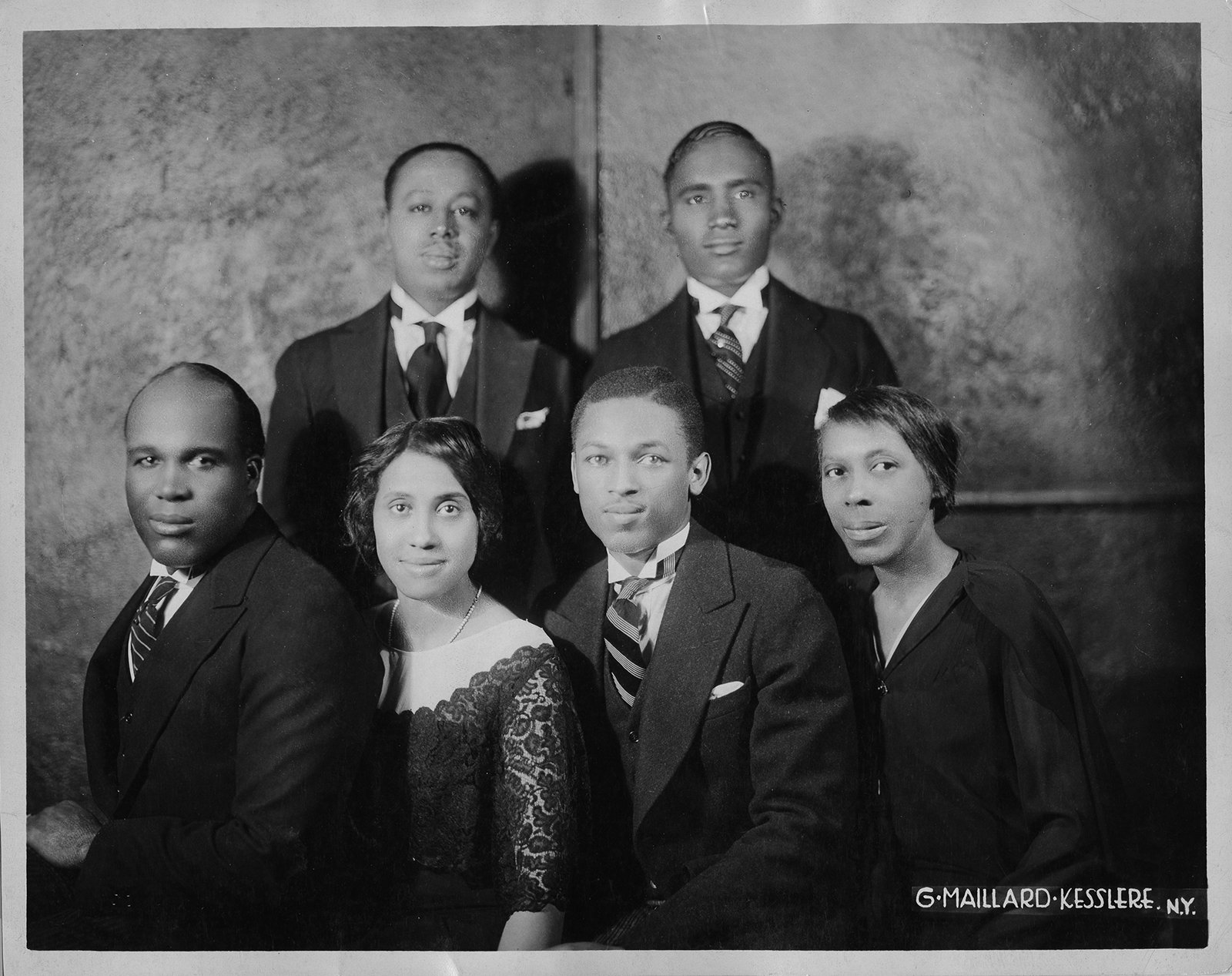 The Fisk Jubilee Singers, 1928-1930. (Fisk University, John Hope and Aurelia E. Franklin Library, Special Collections, Photograph Archives)